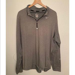 Nike Long Sleeve Grey Pullover